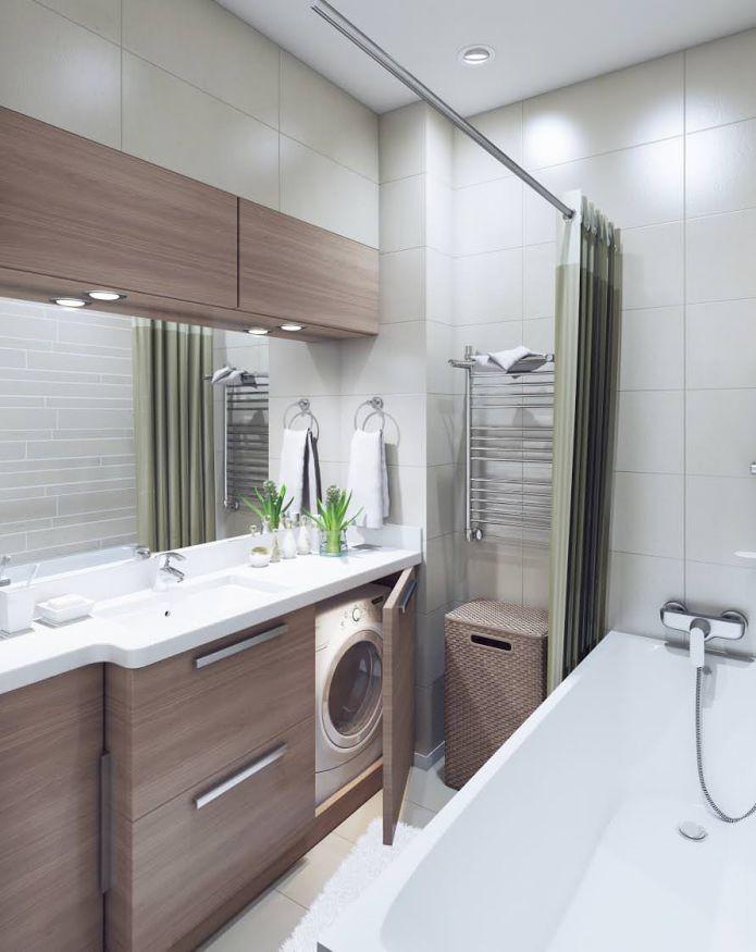 Современный дизайн двухкомнатной квартиры 52 метра для ...
