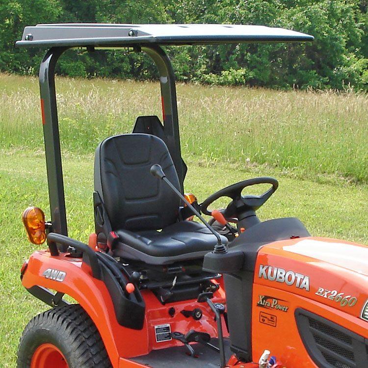Hardtop Abs Plastic Canopy For Kubota Tractors And Mowers Black Tractor Accessories Kubota Tractors Tractors