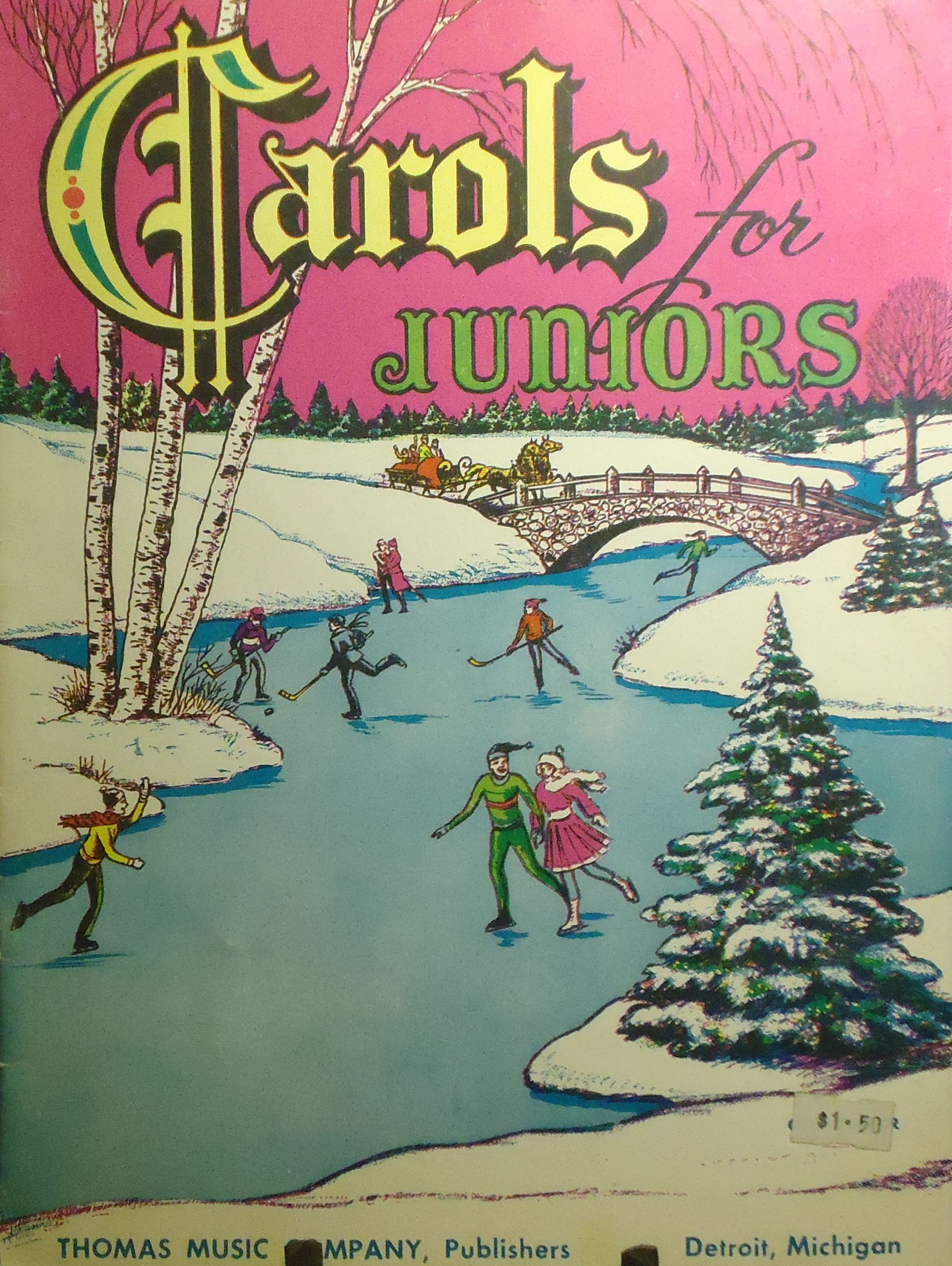 Carols For Juniors - Thomas Music Co. - 1953 - Songbook - Vintage ...