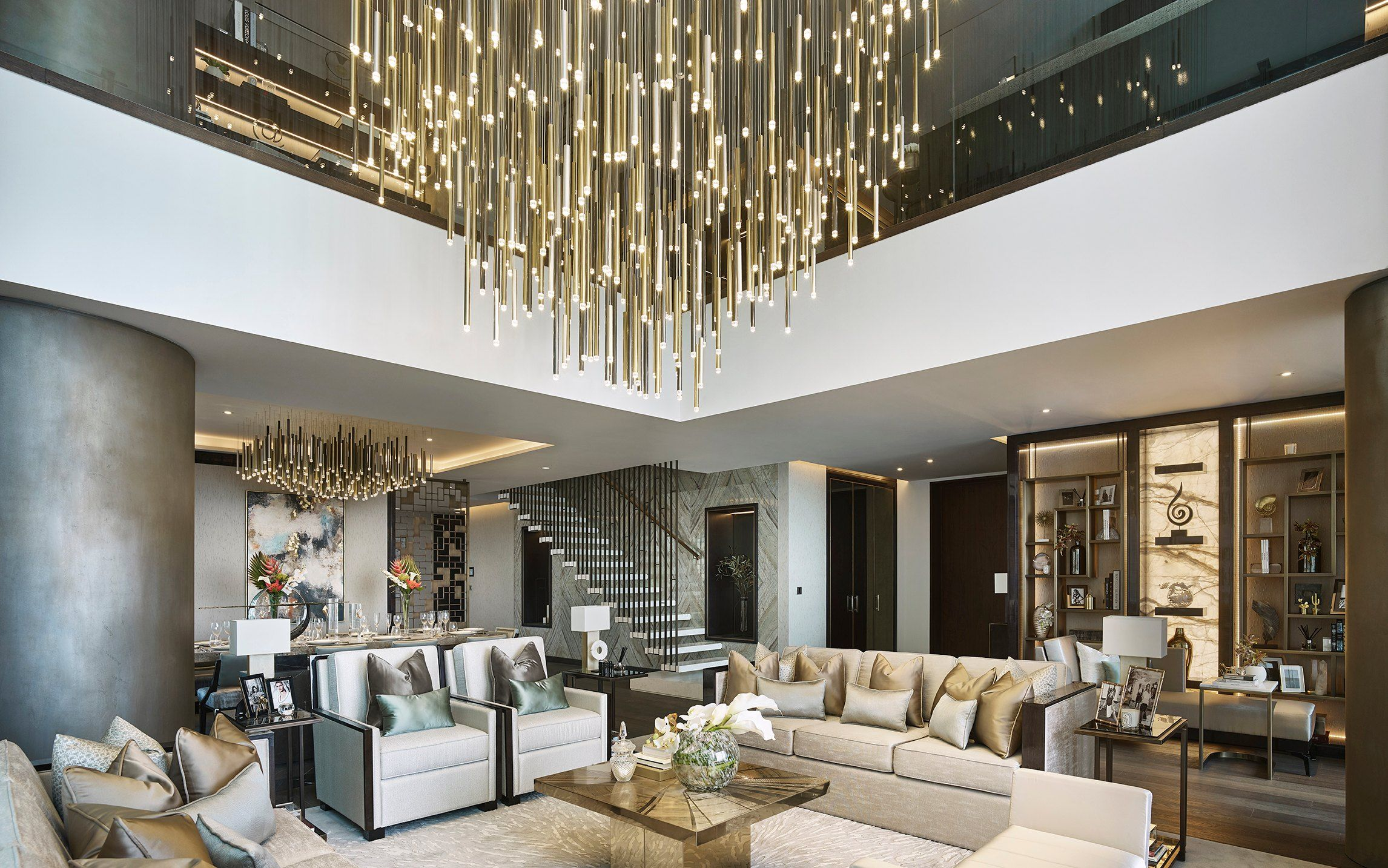 7 Ways To Make A Statement In Your Living Room Hospital Interior Design Interior Design Student Interior Design Firms E design living room