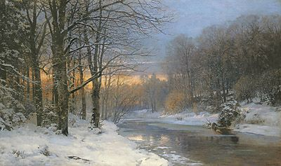 Andersen-Lundby, Anders,  A winter's morning