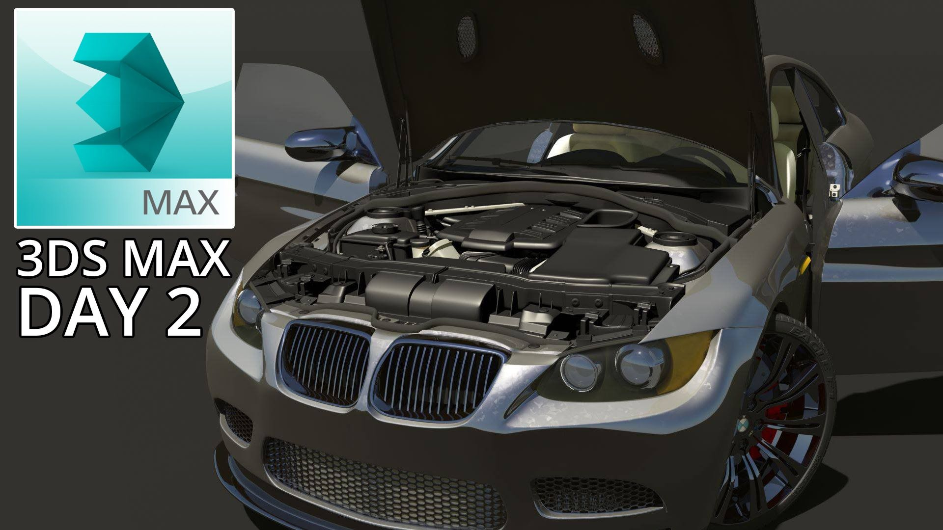 Maya To 3ds Max Day 2 Bmw E92 M3 Car Models 3ds Max Car
