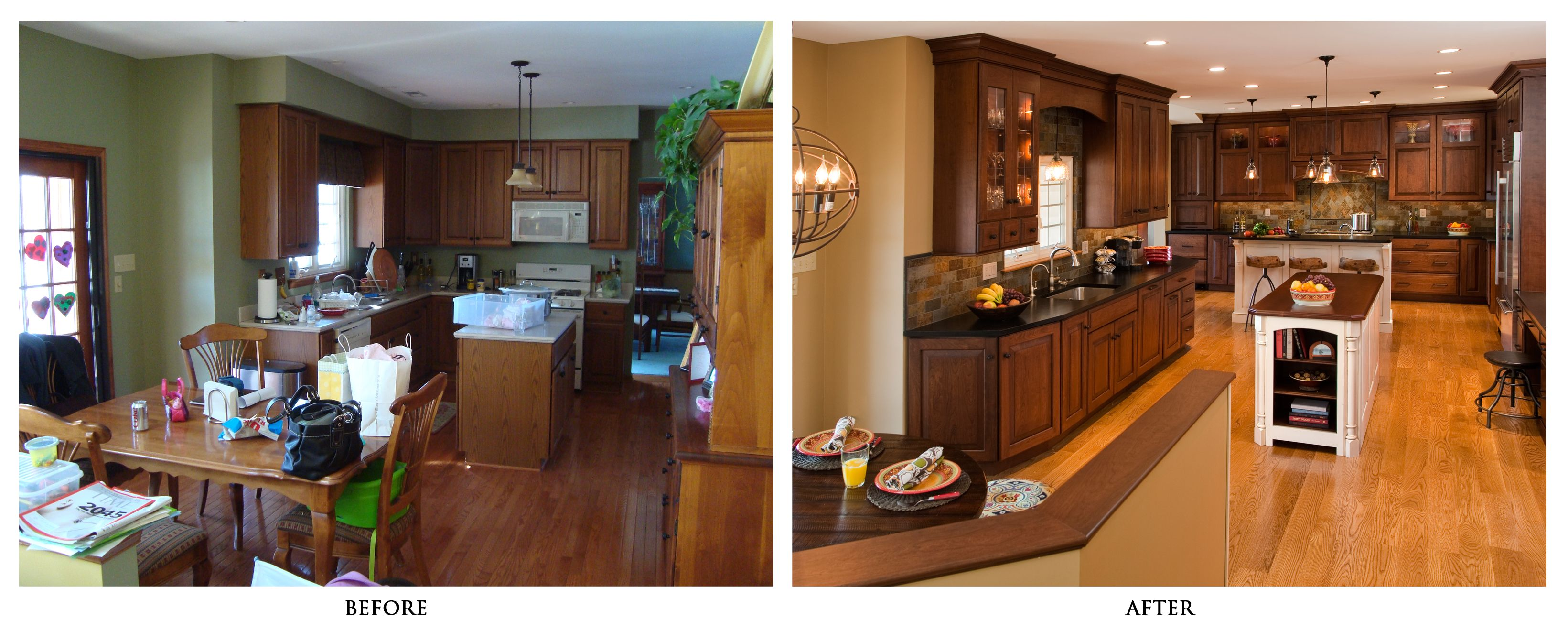 ordinary Kitchen Remodeling Before And After #1: 1000+ images about Before u0026amp; After on Pinterest | Before and after pictures, Home remodeling and Mobile home remodeling