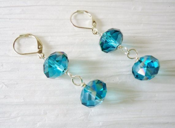Hey, I found this really awesome Etsy listing at https://www.etsy.com/listing/155312452/bermuda-blue-crystal-dangle-earrings