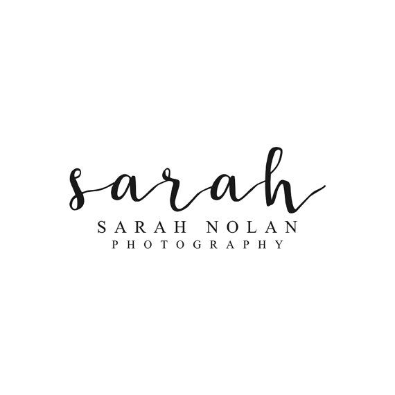 Instant Download Logo Calligraphy Logo Photography Logo