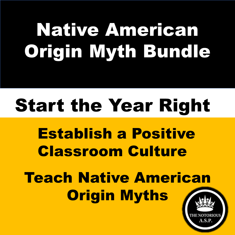 Native American Creation Origin Myth Complete Bundle For Distance Learning In 2020 Guided Reading Question Essay Classroom Culture Idea Example Argument