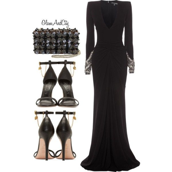 Untitled #45 by glamandcity on Polyvore featuring polyvore, fashion, style, Alexander McQueen and Dsquared2