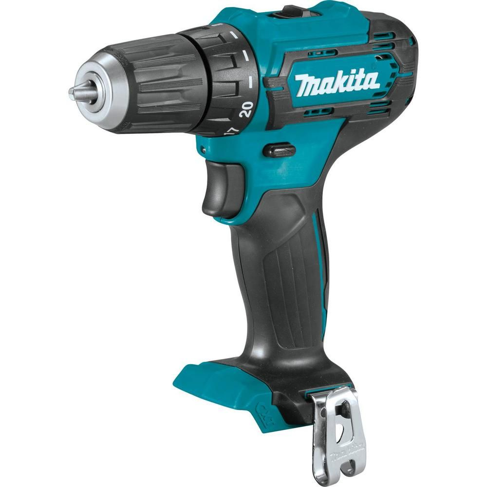 Makita 12 Volt Cxt Lithium Ion Cordless 3 8 In Driver Drill Tool Only Fd09z The Home Depot Cordless Hammer Drill Drill Hammer Drill