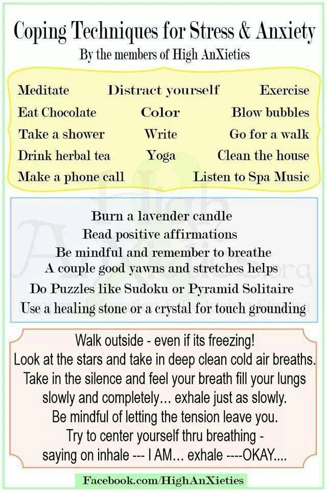 Coping skills \/\/ Graduate Students Remember, this too shall pass - stress management chart