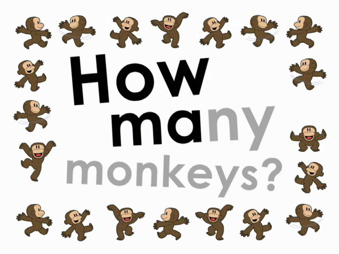How Many Monkeys