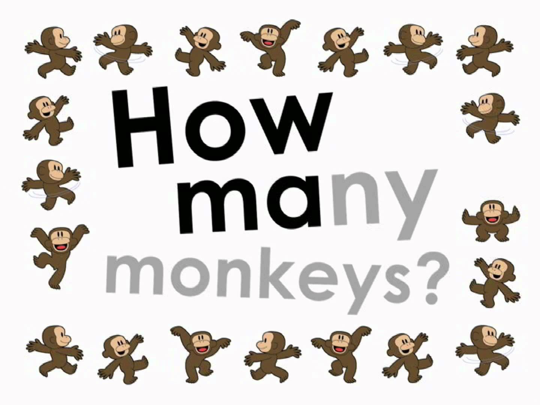 How Many Monkeys