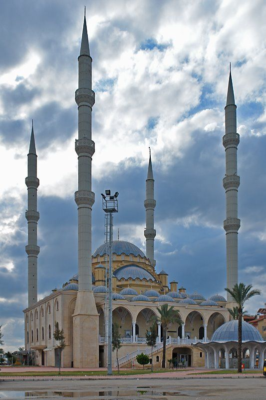 Manavgat Mosque Is The Largest Mosque In Antalya Region