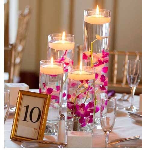 Cute Wedding Centerpiece Ideas: Wedding Reception Decorations, Wedding