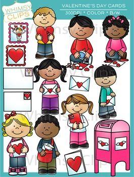 Valentine S Day Cards Clip Art Clip Art Valentine Day Cards Valentine Fun