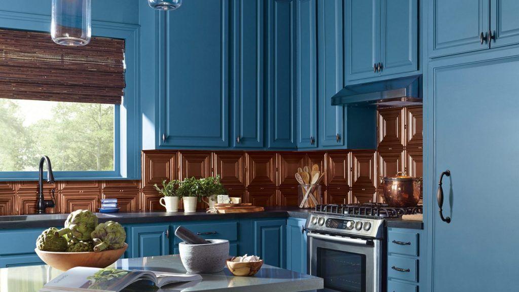 The 5 Best Types of Paint for Kitchen Cabinets #darkkitchencabinets