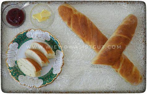 Schnelles Baguette - kurze Gehzeit, großer Genuß #pizzateigmittrockenhefe