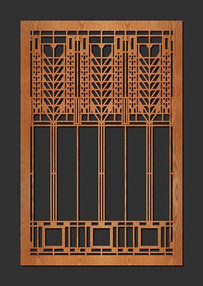 Transom Windows A Useful Design Element: Frank Lloyd Wright DD Martin House Art Glass Triple Tree