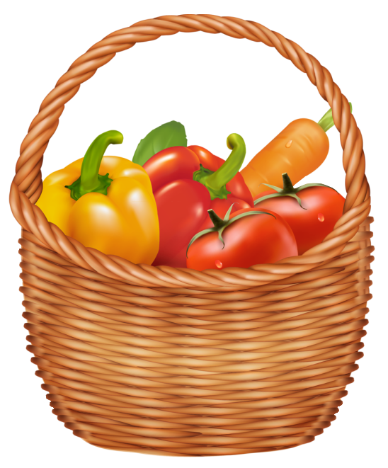 Basket Of Vegetables Clipart : Baskets png clipart google search creativity