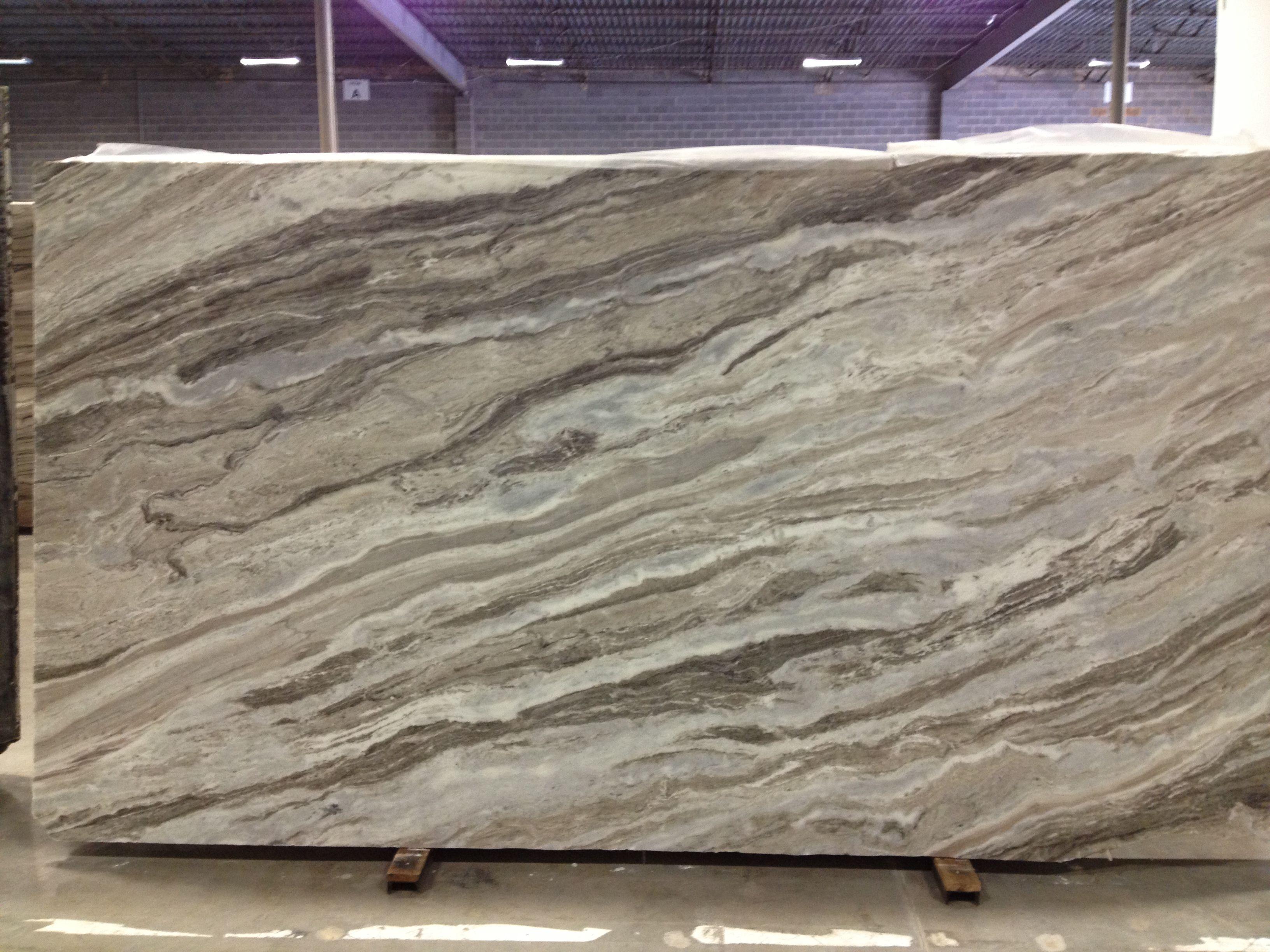 Bianca Jewel Fantasy Brown Soft Quartzite Slab Countertops