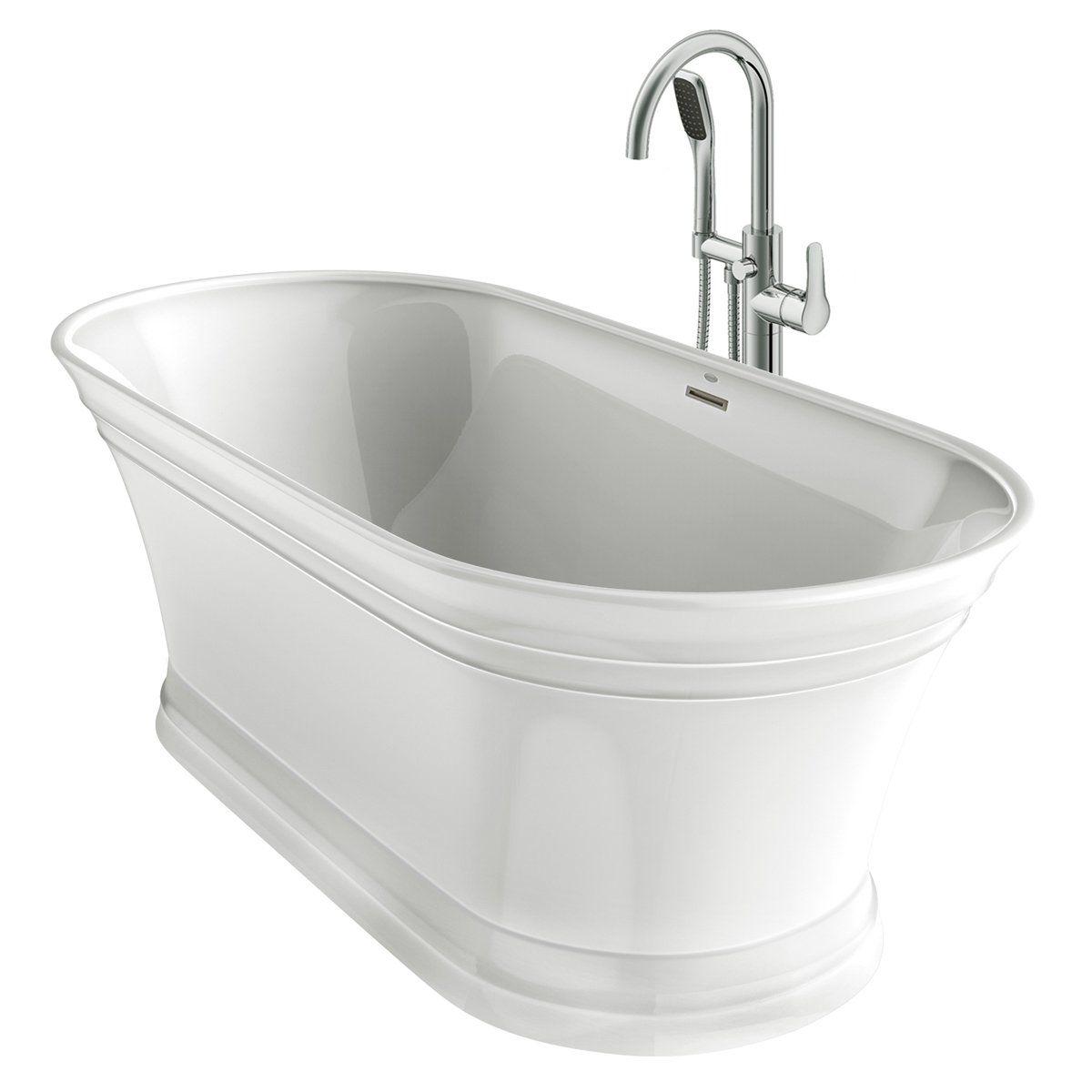 Lyndsay Freestanding Bath With Images Free Standing Bath Tub