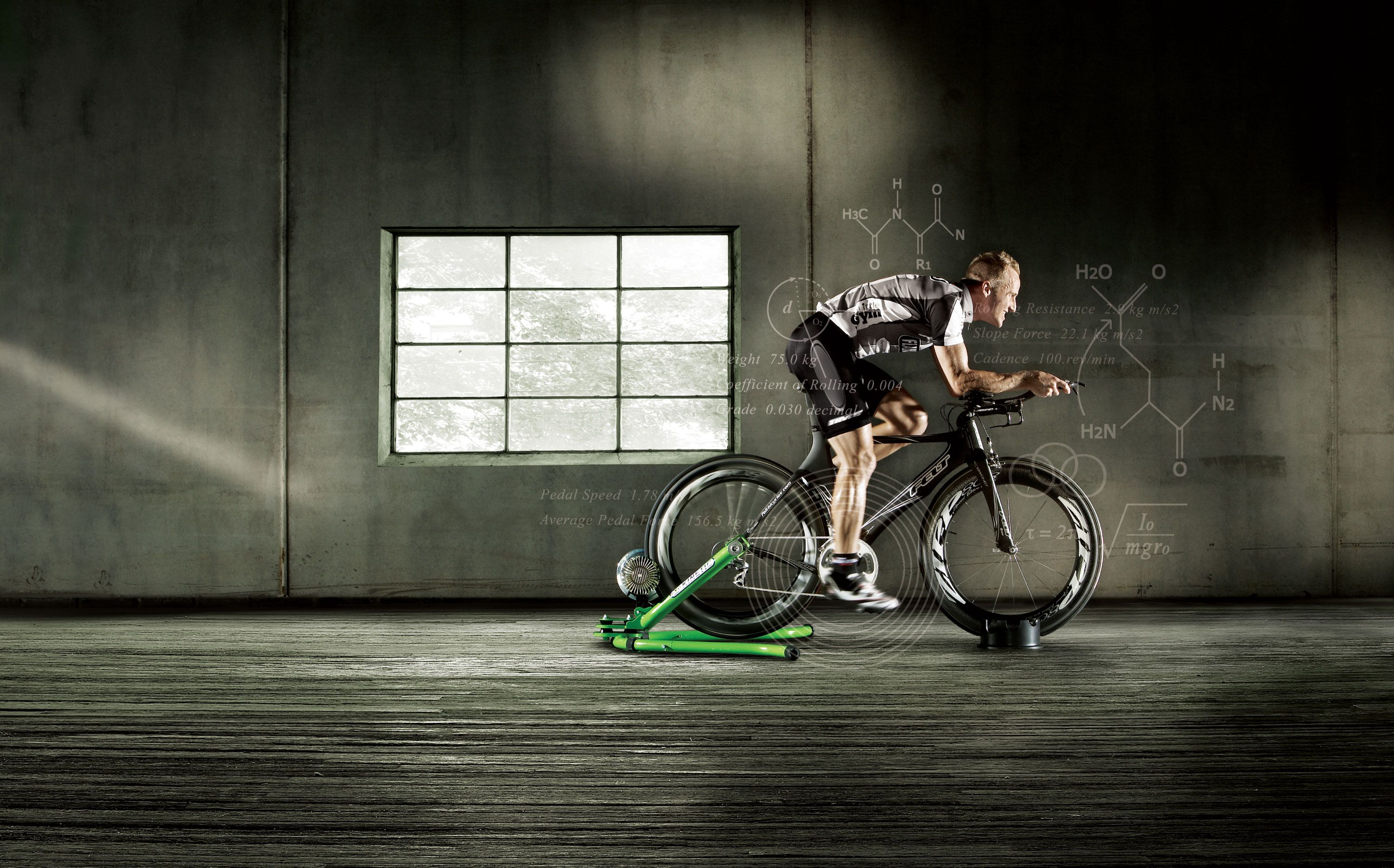 How To Use An Indoor Trainer To Improve Your Pedaling Technique