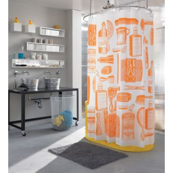 Barbershop Shower Curtain 1495