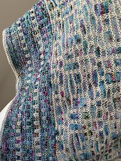 Glass Houses pattern by Cally Monster #prayershawls