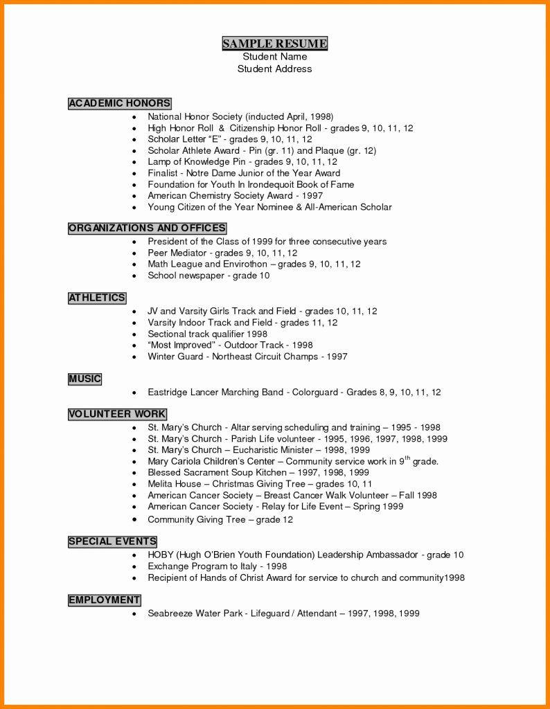 Resume Examples For Grade 9 Students Resume Templates Lebenslauf Beispiele Vorlagen Lebenslauf