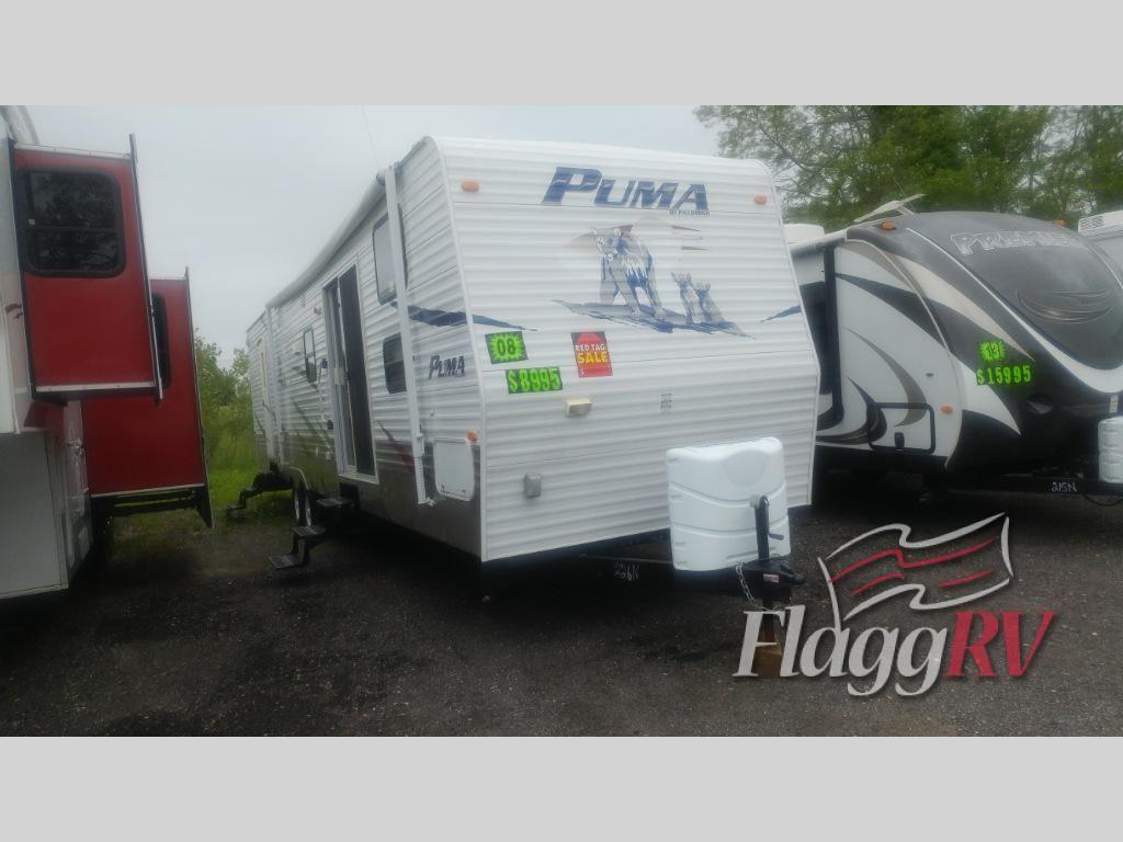 Used 2008 Palomino Puma 39ptbss Destination Trailer At Flagg Rv