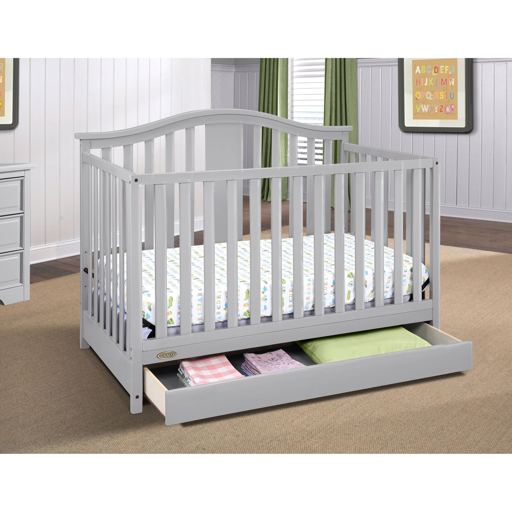 bed with in drawers conversion kit louis crib cribs convertible toddler