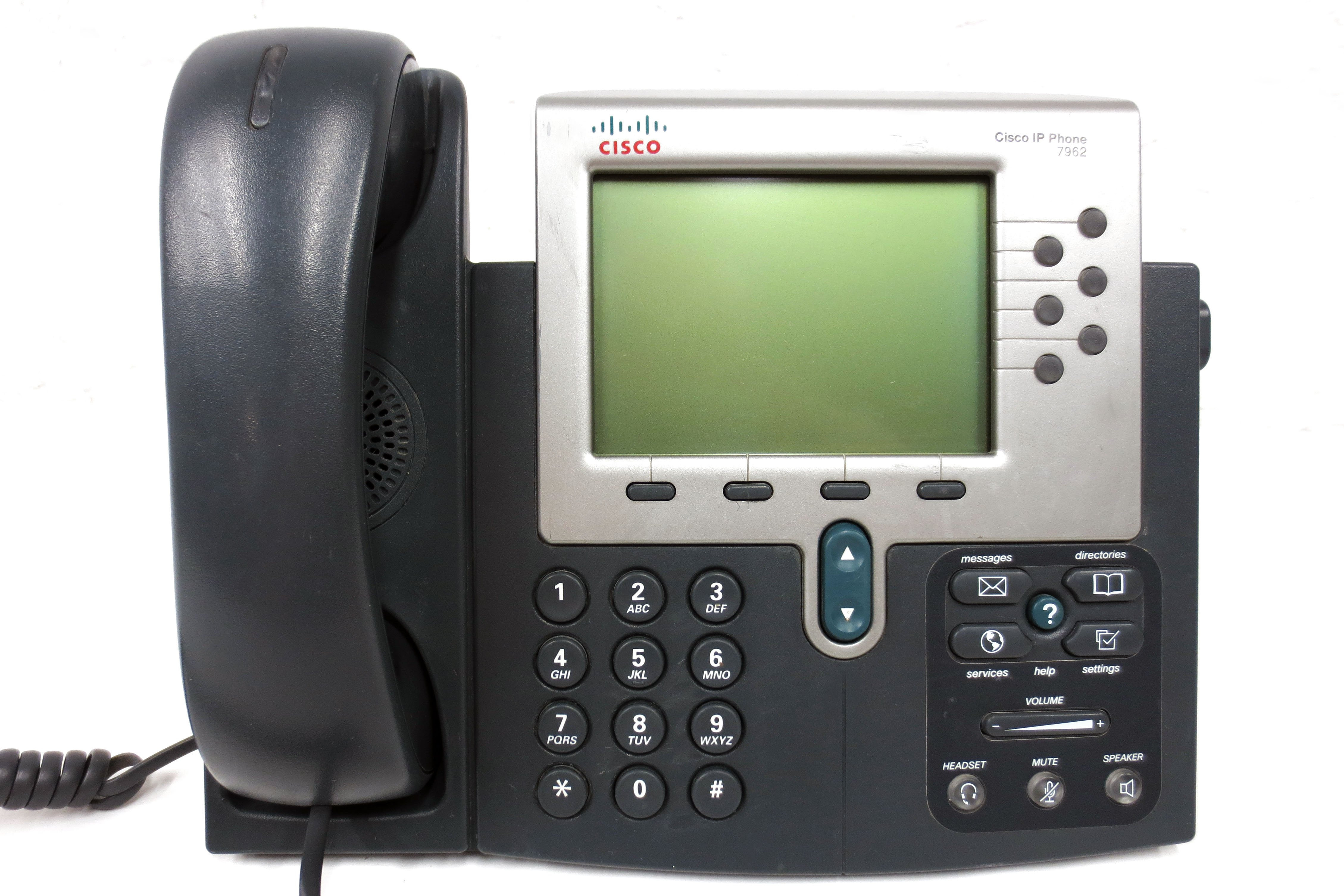 Cisco Unified IP Phone 7962G VoIP PoE Business Phone with Handset
