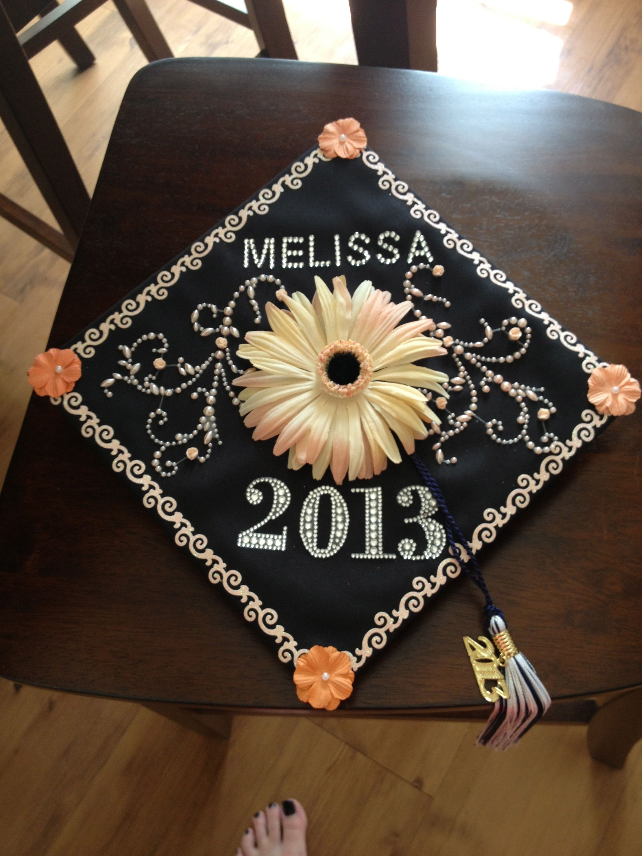Decorating With Hats Graduation Cap Decoration So Proud Of This Ideas Pinterest