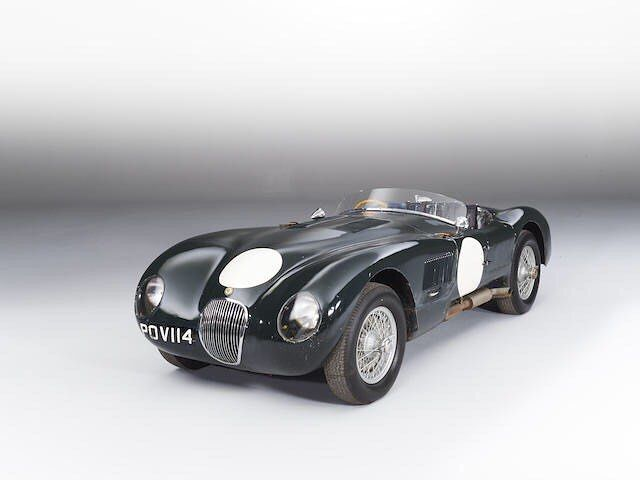 "#Larvotto After the war, Jaguar retained its reputation as an outstanding sports car and from 1951 to 1953, it built the Jaguar C-Type (""C"" stands for ""competition""), a successful racing car, that won for two times Le Mans 24 hours race. Only 53 models were produced. In march, @bonhams1793 in Montecarlo, you have the rare and very special opportunity go get the iconic 1952 JAGUAR C-TYPE SPORTS RACING. All you need is € 4-5 million ! photo by Matt Howell. • #bonhams"