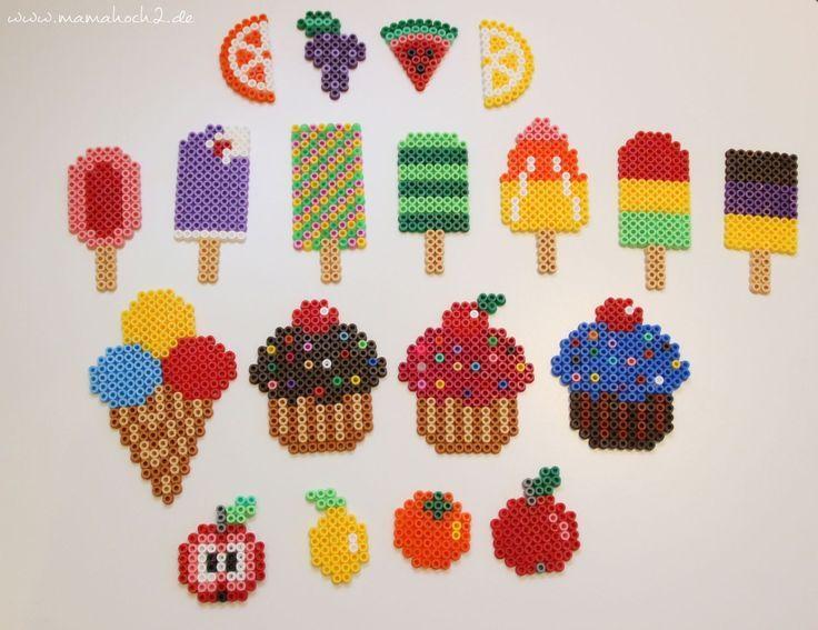 Photo of DIY Bügelperlen Kuchen und Süßigkeiten für die Kinderküche ⋆ Mamahoch2
