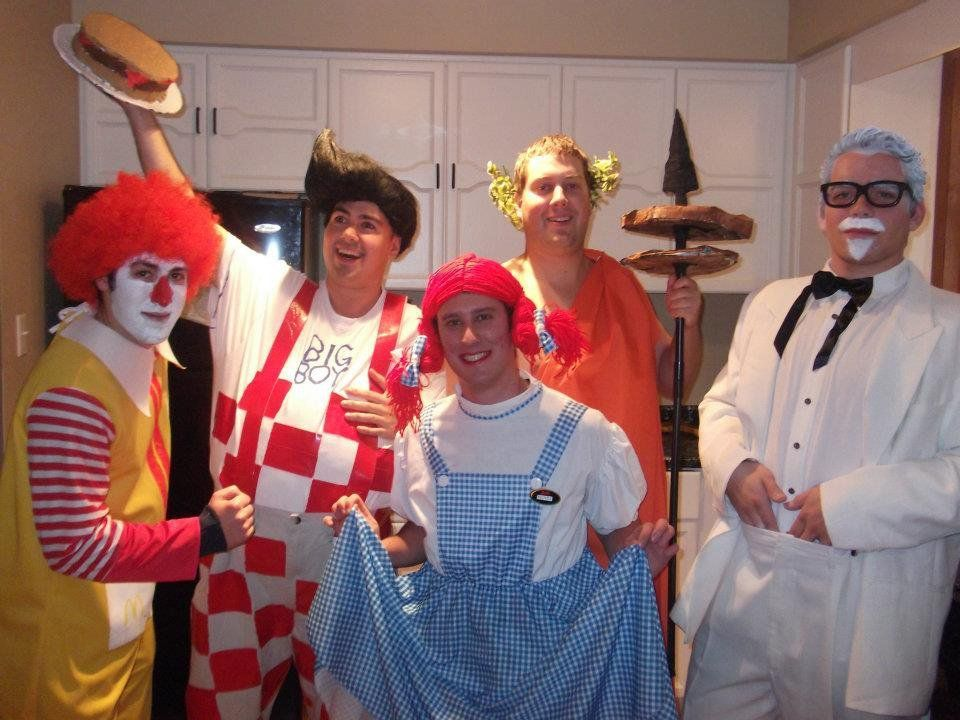 25 Group Costume Ideas for the Most Fun Halloween Ever