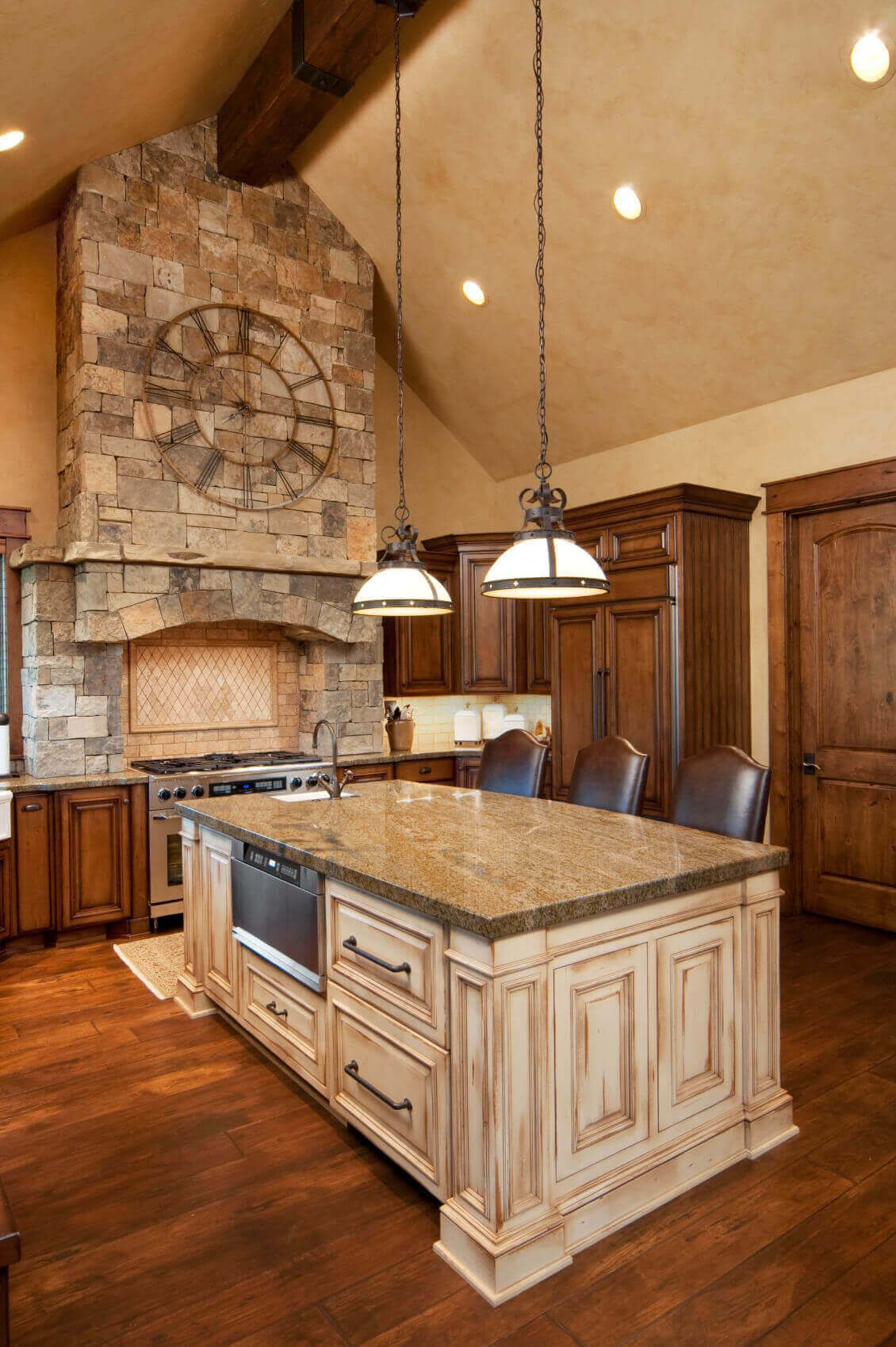 68+Deluxe Custom Kitchen Island Ideas (Jaw Dropping Designs ...
