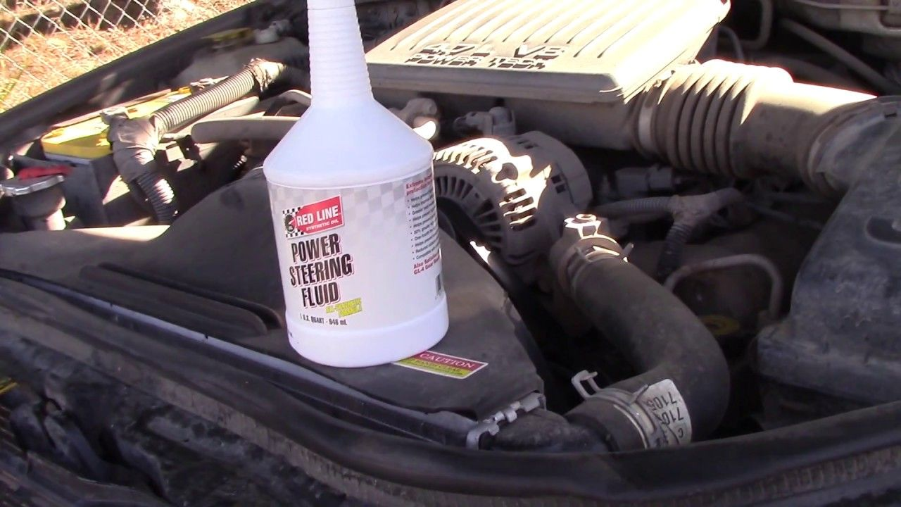 1999 2004 Jeep Grand Cherokee Power Steering Fluid Conversion Oil Filter Youtube