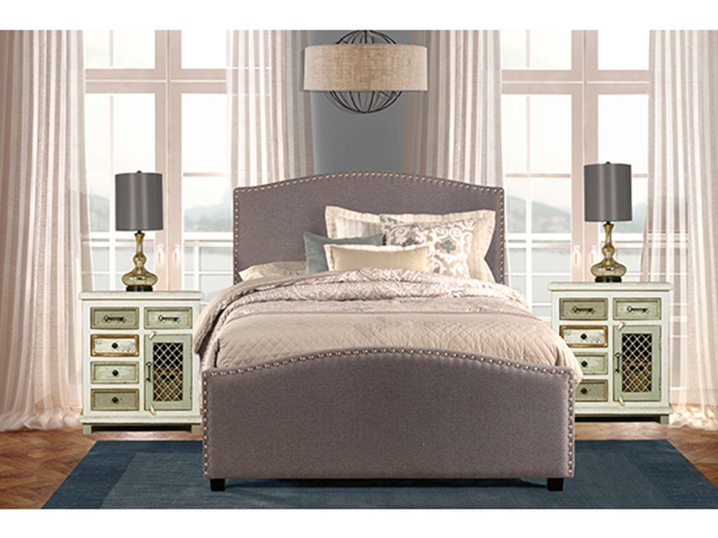 Kerstein King Bed Bed, California king headboard