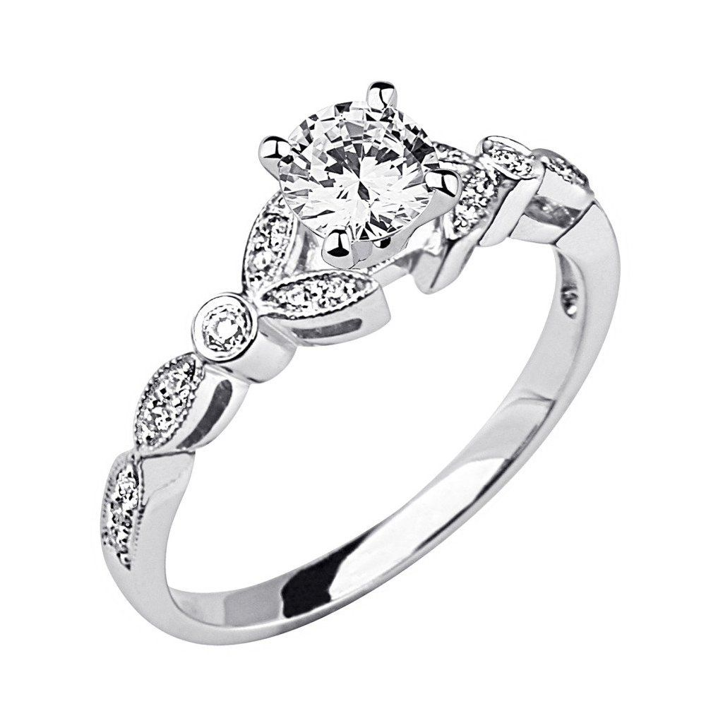 unique vintage wedding rings for women vintage engagement rings i really like this style a - Cheap Wedding Rings For Women