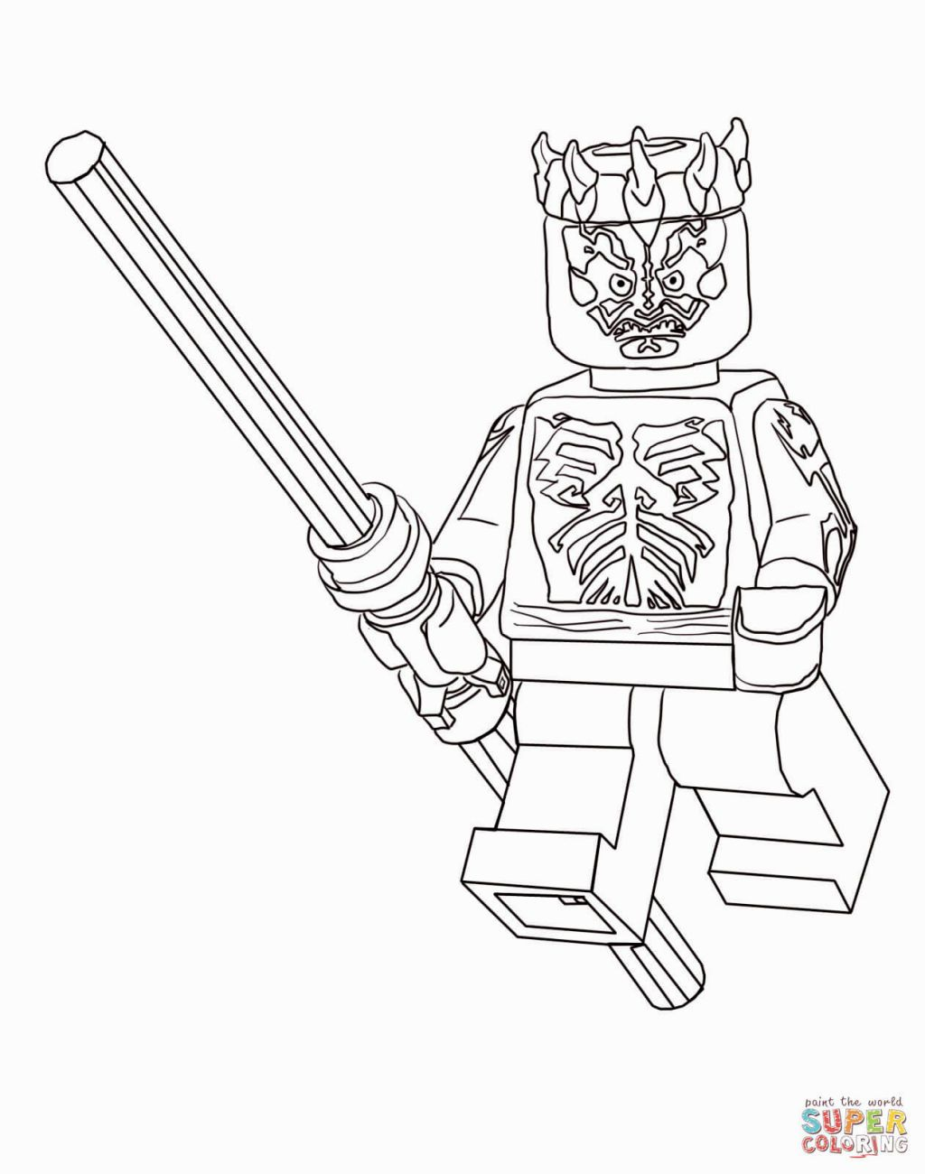 Lego Star Wars Coloring | Coloring Pages | Pinterest