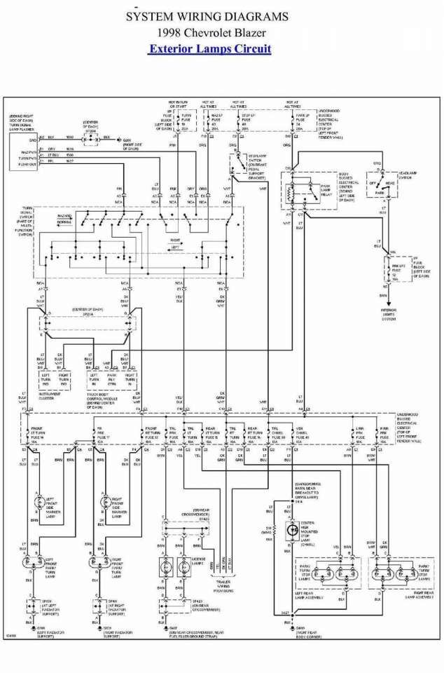 1998 Chevrolet Truck Wiring Diagram and Chevy Truck Wiring