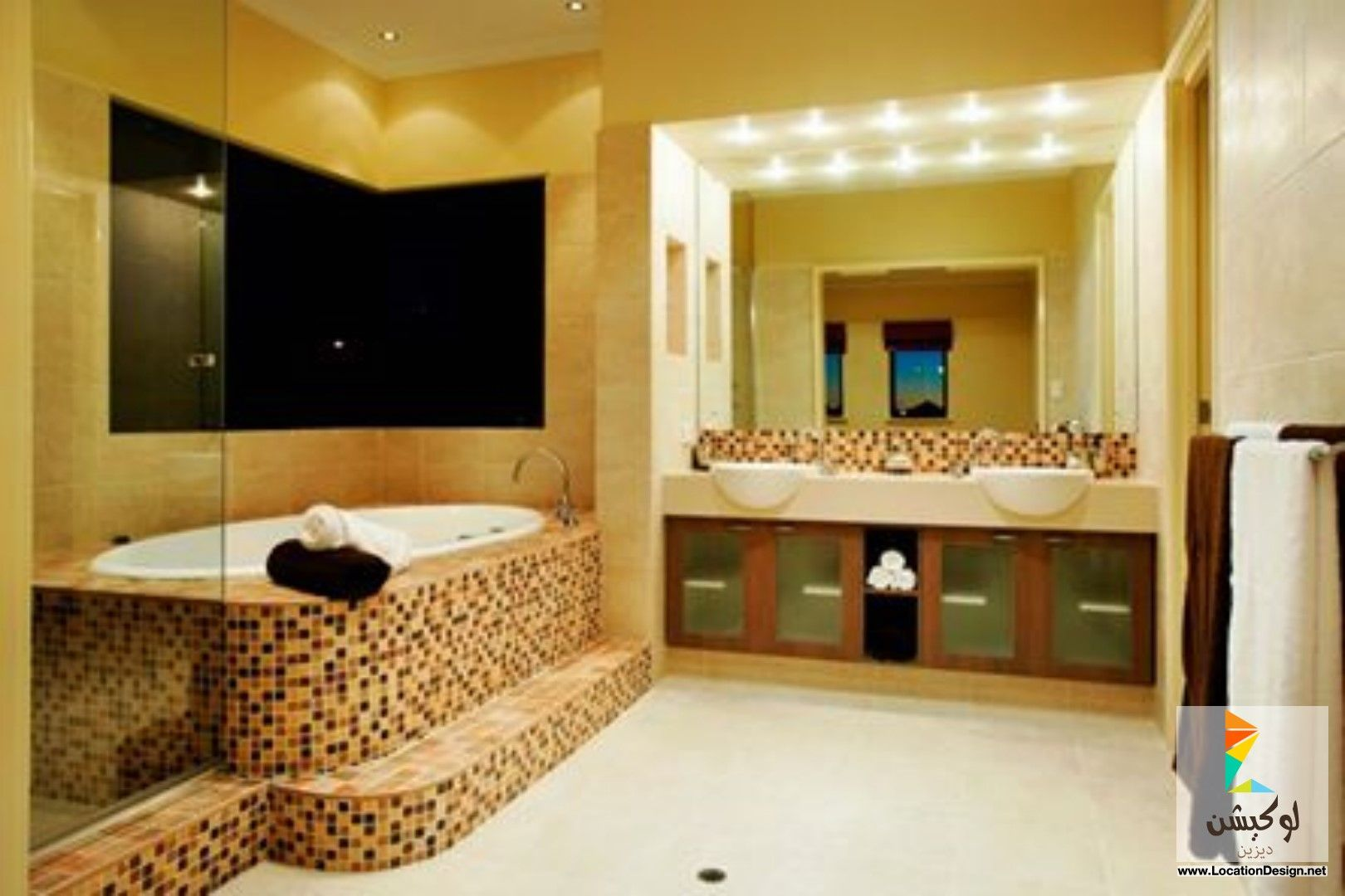 ديكورات حمامات صغيرة 2015 | Bathroom | Pinterest