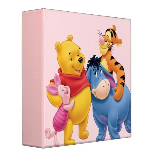 Pooh & Friends 1 3 Ring Binder