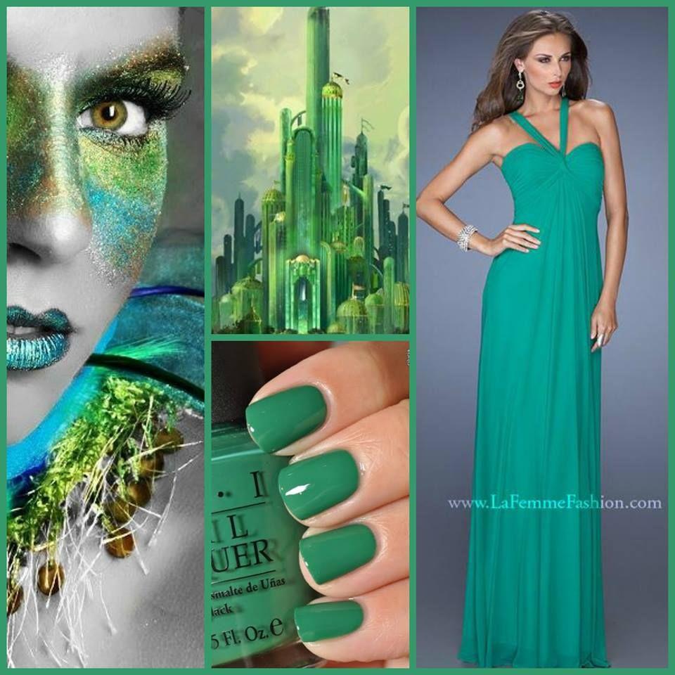 La Femme Style 19348 Kelly Green ~ green prom dress ~ emerald green ...