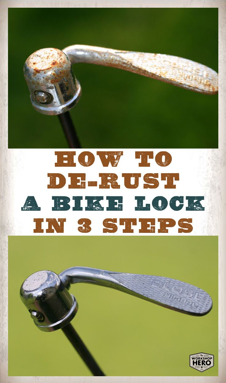 Remove Rust From Bike Parts In Three Easy Steps Using Metal Rescue