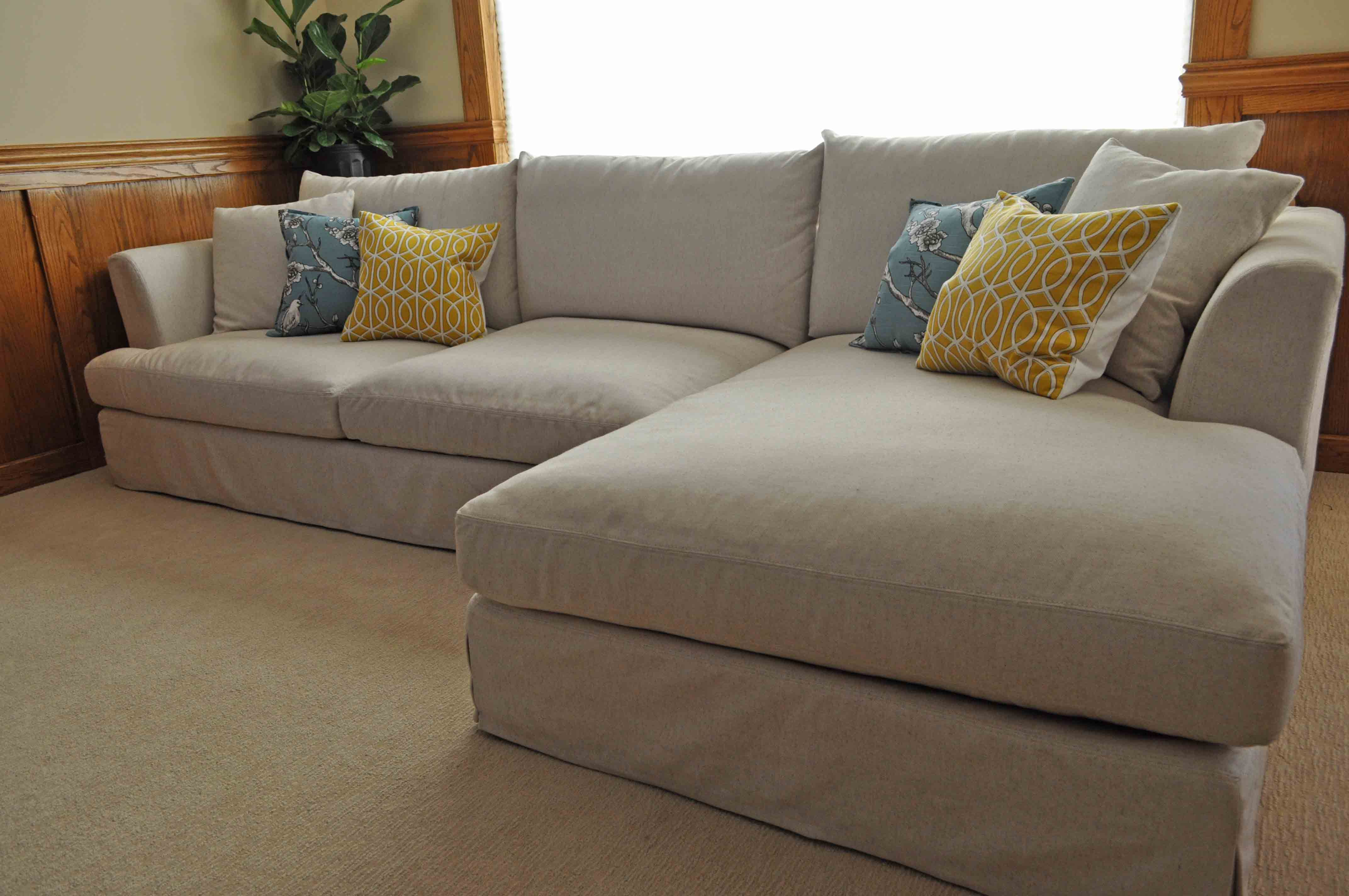 large overstuffed sofas belgian classic slope arm slipcovered sofa clic oversized corner