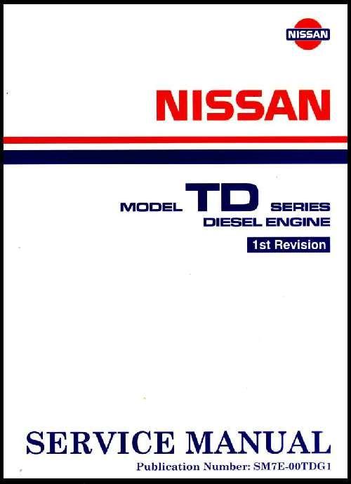 nissan td27 engine service manual 10 td27 nissan nissan y taller Nissan Navara D22