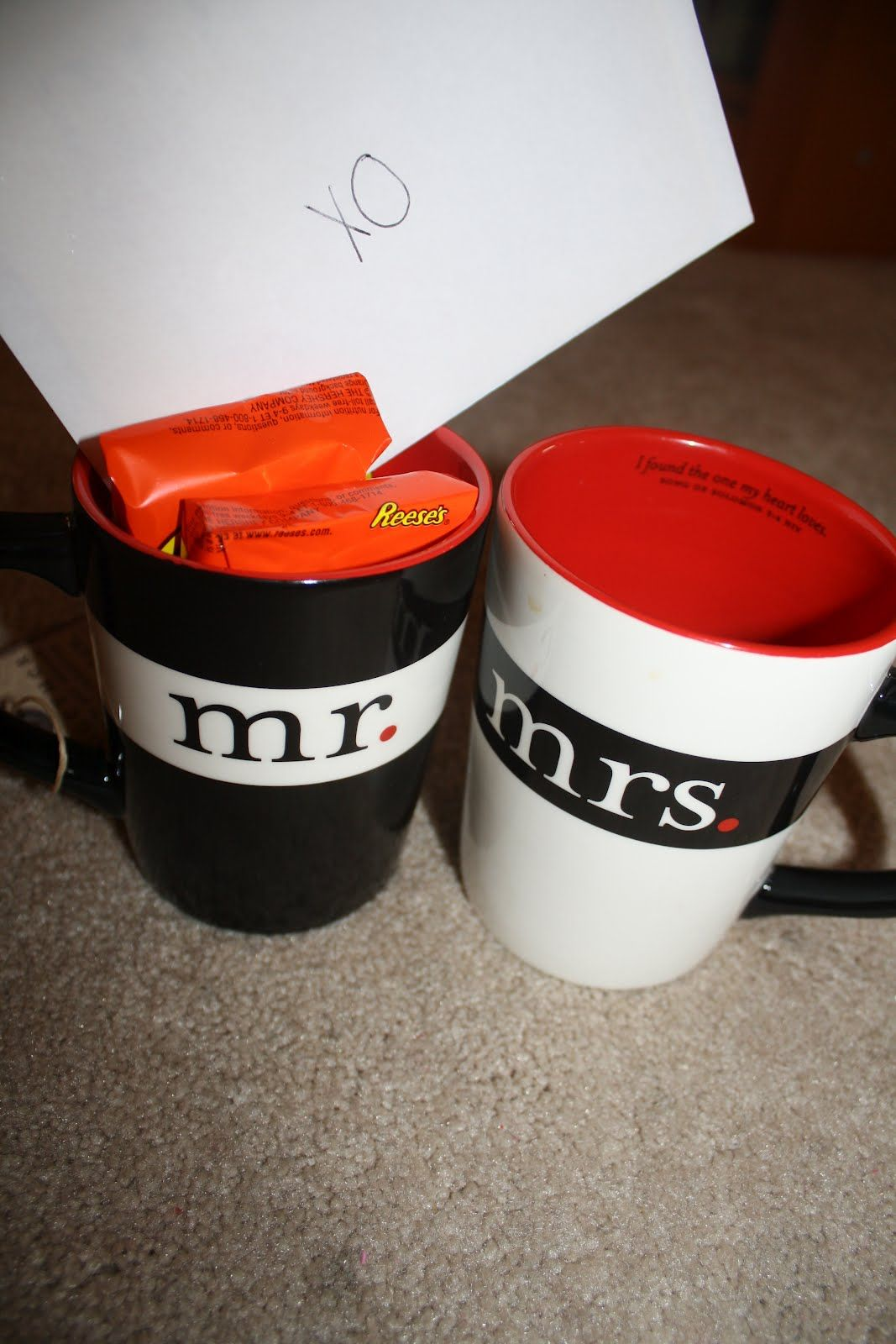 Cute gift for the bride and groom marriage wedding