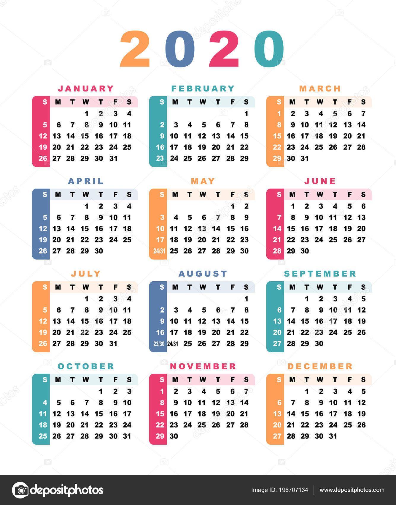 Calendario 2020 2020.Resultado De Imagem Para Calendario 2020 Em Portugues Do