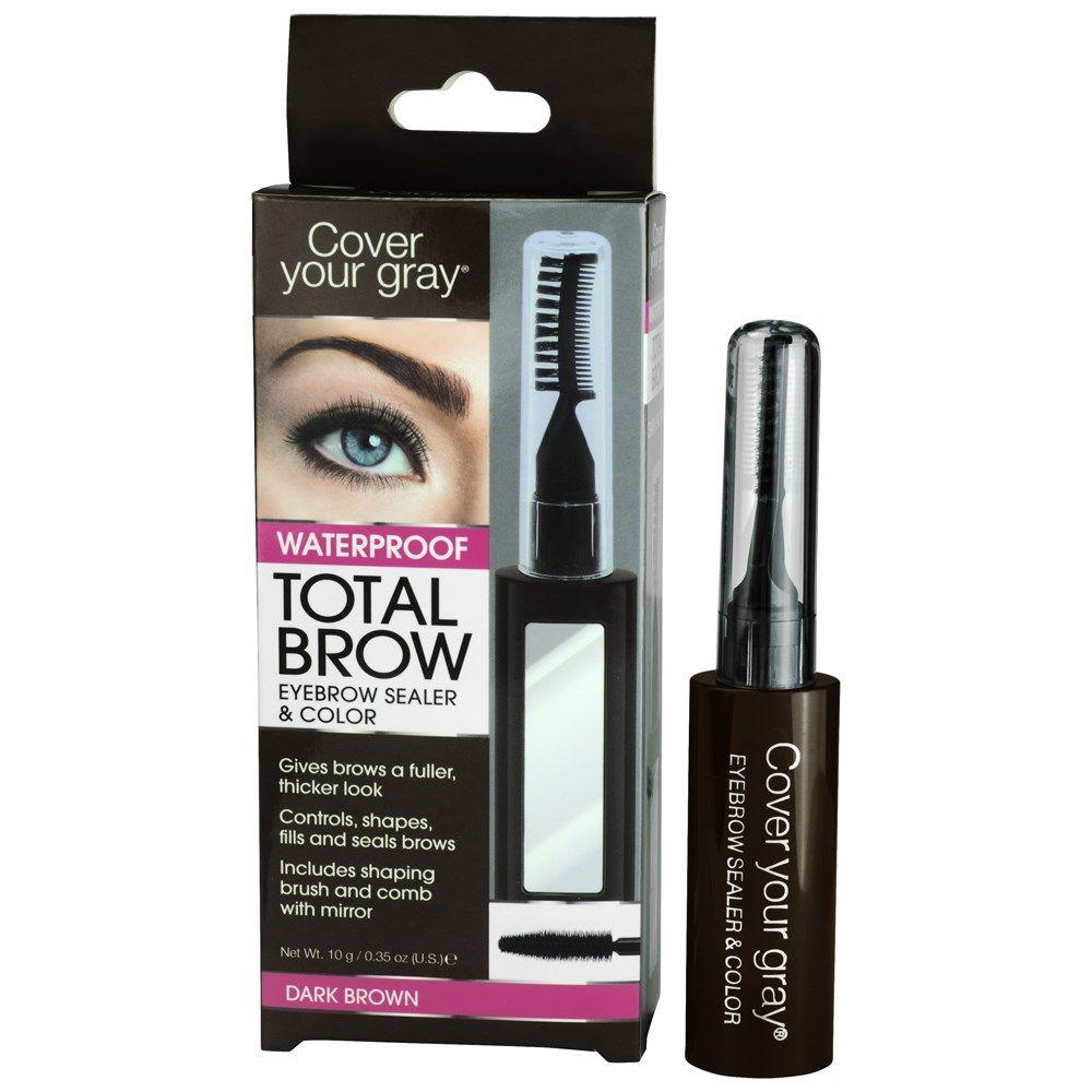 Cover Your Gray Total Brow Waterproof Dark Brown